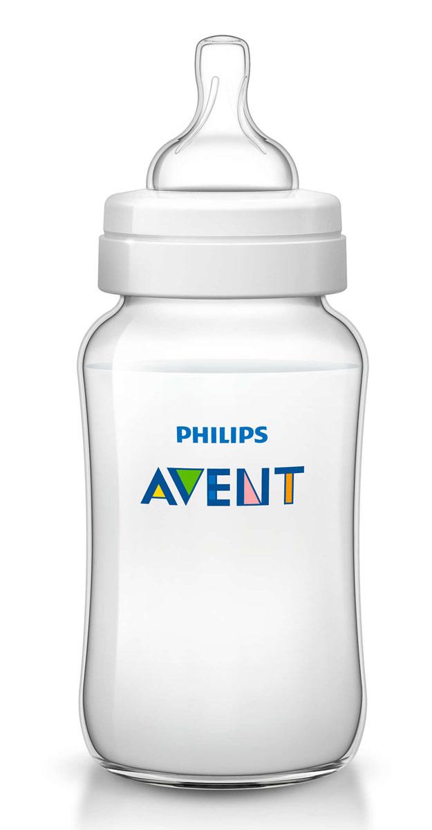 Philips Avent Бутылочка 330 мл, 1 шт. Соска с переменным потоком для детей от 3 месяцев SCF566/17 avent бутылочка для кормления 125 мл
