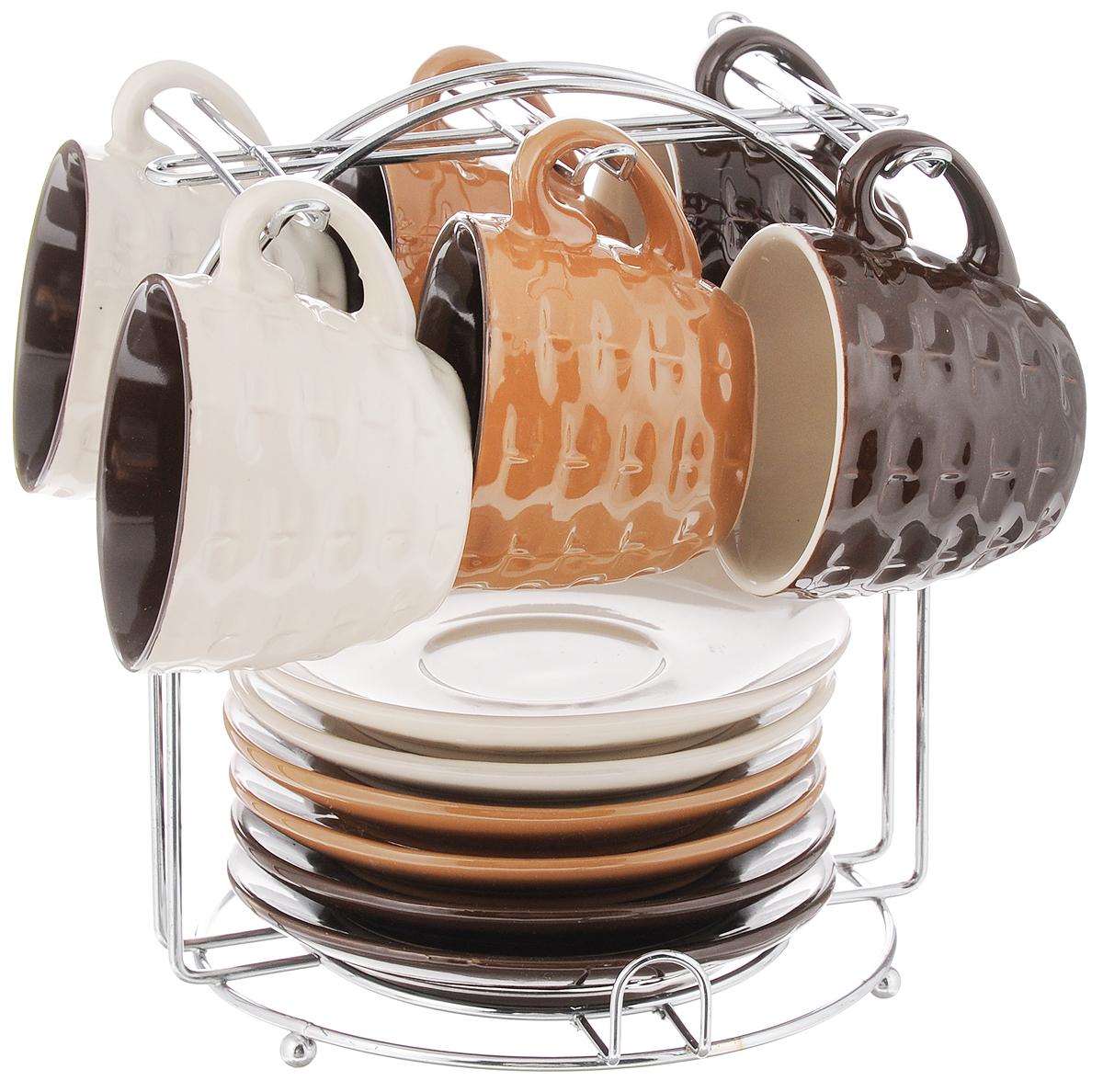 Фото - Набор кофейный Loraine, 13 предметов. 24669 [супермаркет] jingdong геб scybe фил приблизительно круглая чашка установлена в вертикальном положении стеклянной чашки 290мла 6 z