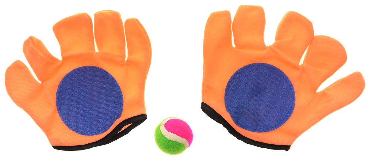 цена на YG Sport Игровой набор Мячеловка цвет оранжевый синий