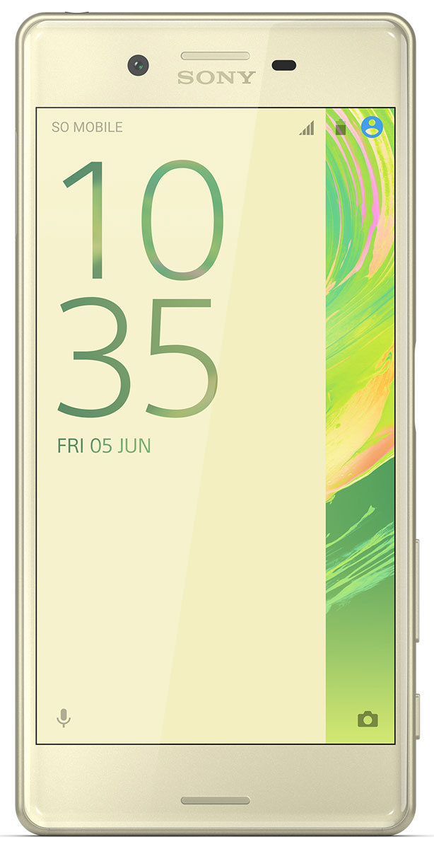 Смартфон Sony Xperia X 32 GB, золотистый