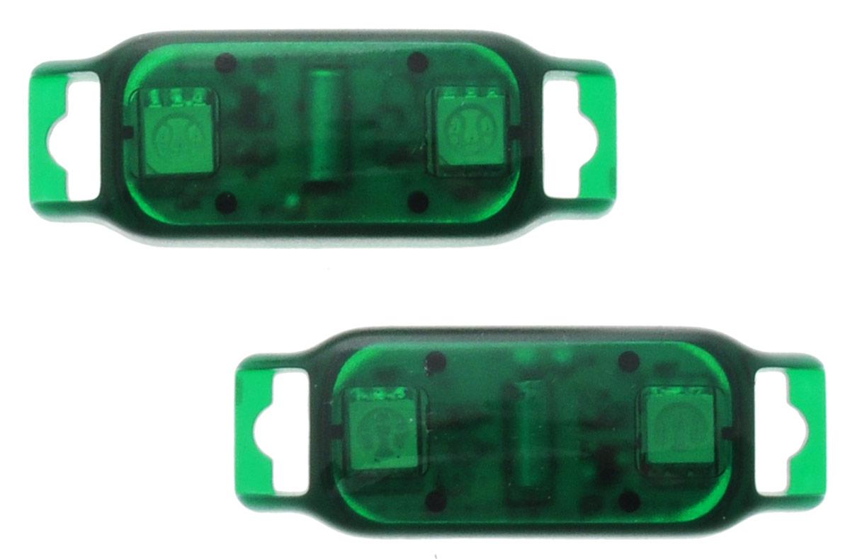 Partymania Светодиоды с датчиком движения Shine & Go! цвет зеленый 2 шт yeelight ночник светодиодный заряжаемый с датчиком движения
