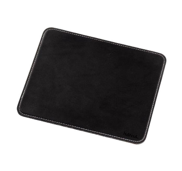 Коврик для мыши Hama H-54745 Leather Look, Black