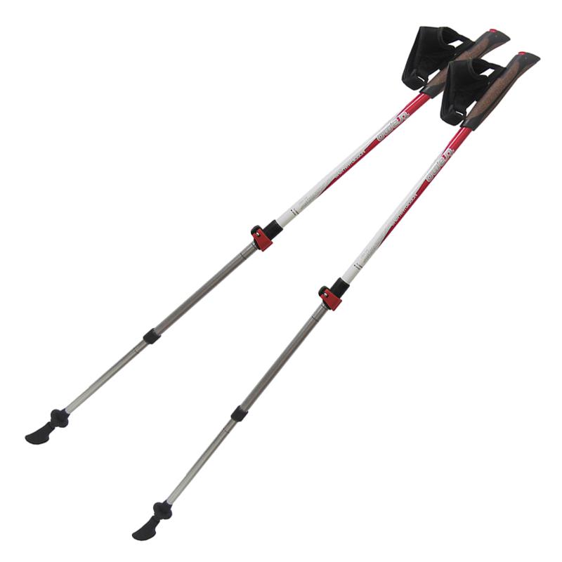 Палки телескопические для скандинавской ходьбы Tramp