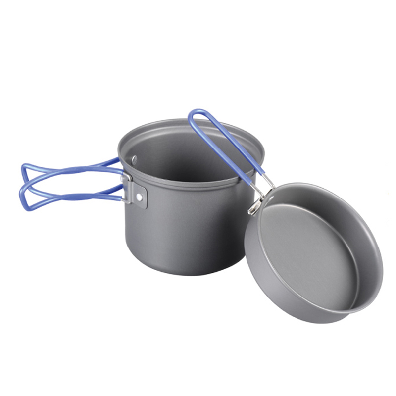 Котелок Tramp с крышкой-сковородой, цвет: серый. TRC-039 tramp trc 031