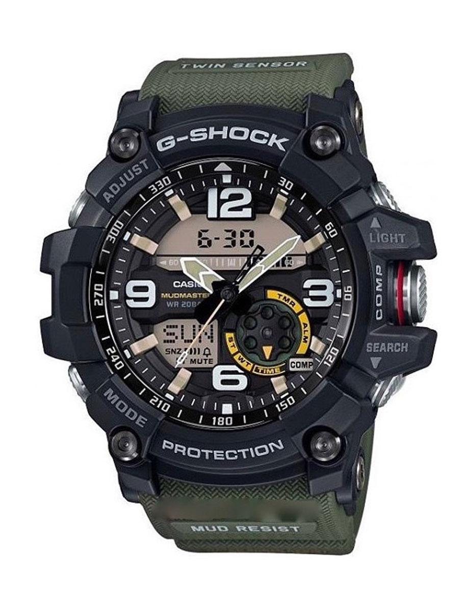 Наручные часы мужской Casio G-Shock, цвет: черный, защитный. GG-1000-1A3