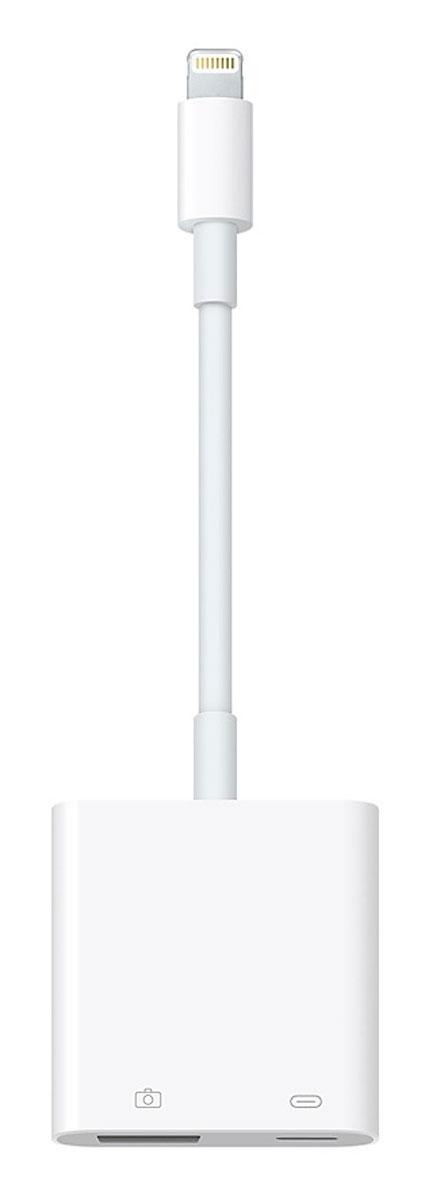 Фото - Apple Lightning/USB 3 USB-адаптер для подключения камеры адаптер usb lightning 3 5 jack gl026 цвет серебристый