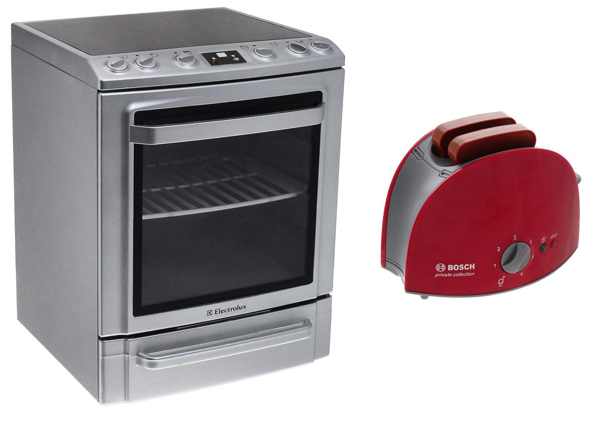 Klein Игрушечная плита Electrolux + Игрушечный тостер Bosch в подарок стоимость