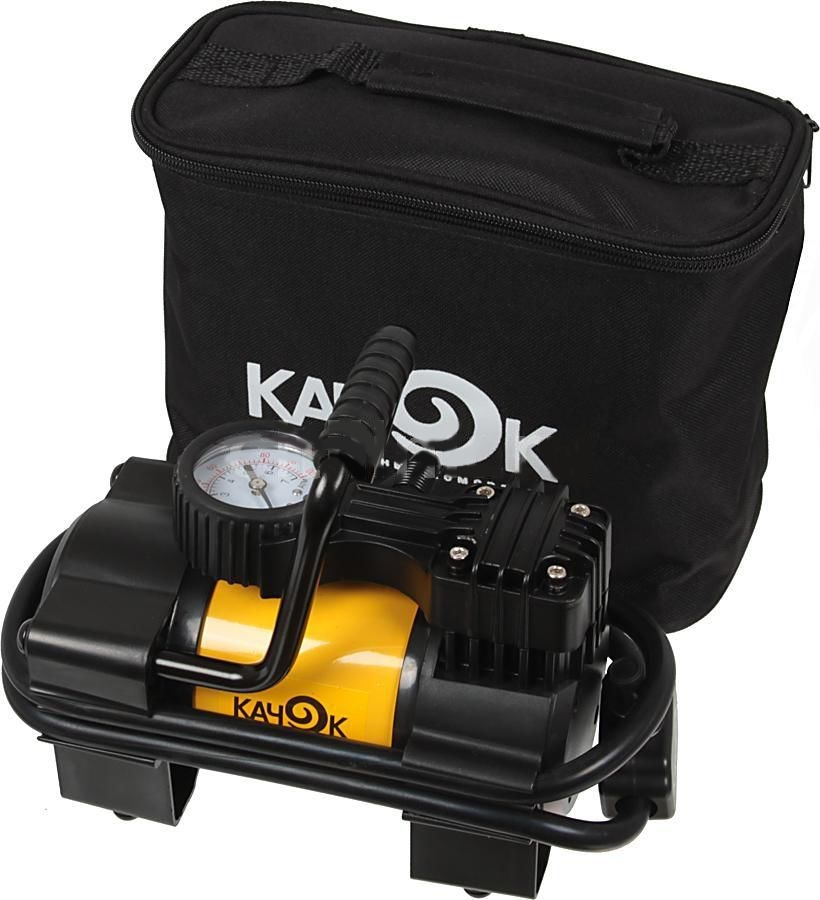 Автомобильный компрессор Качок K90 автомобильный портативный компрессор качок k90 led