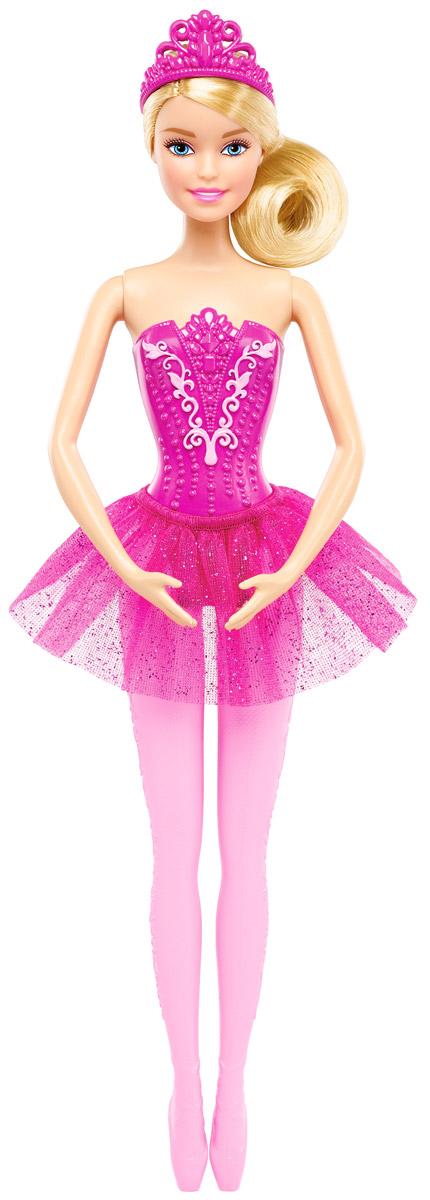 Barbie Кукла Балерина цвет юбки ярко-розовый цена 2017