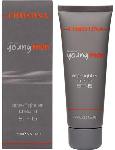 цена на Christina Крем против старения для мужчин Forever Young Age Fighter Cream SPF15 75 мл