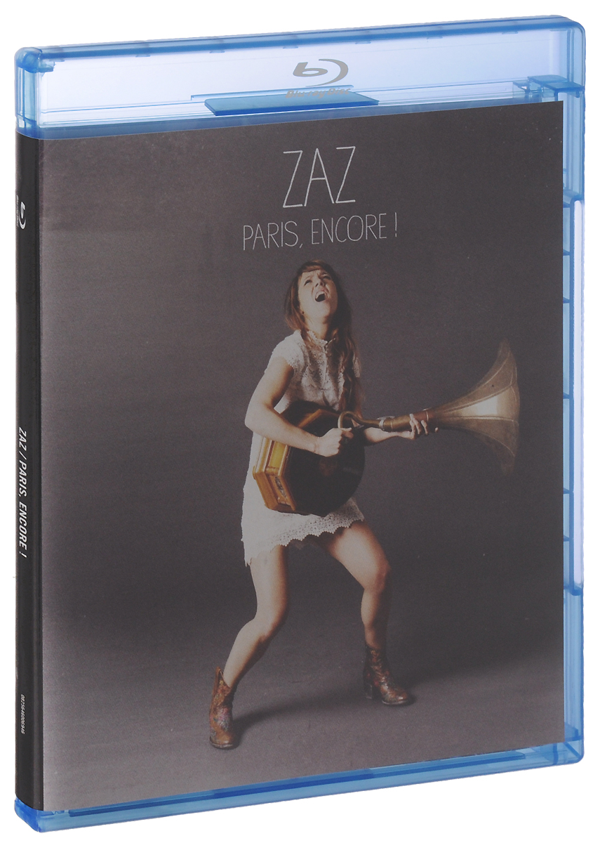 Zaz: Paris, Encore! (Blu-ray)