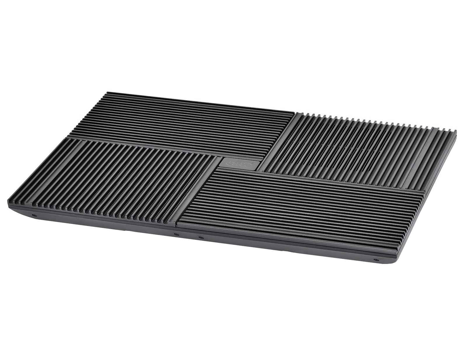 Подставка для ноутбука Deepcool Multi Core X8, Black deepcool охлаждающая подставка для ноутбука deepcool n8 black dp n24n n8bk 17