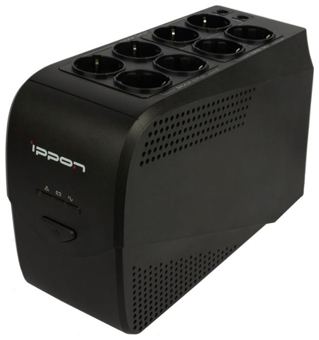 Источник бесперебойного питания Ippon Back Comfo Pro New 800 uninterruptible power supply ippon back comfo pro new 800 home improvement electrical equipment