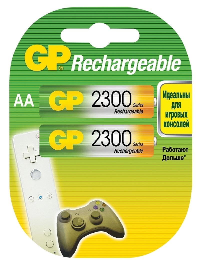 цена на Аккумулятор GP 230AAHC AA NiMH 2250 мАч, 2 шт