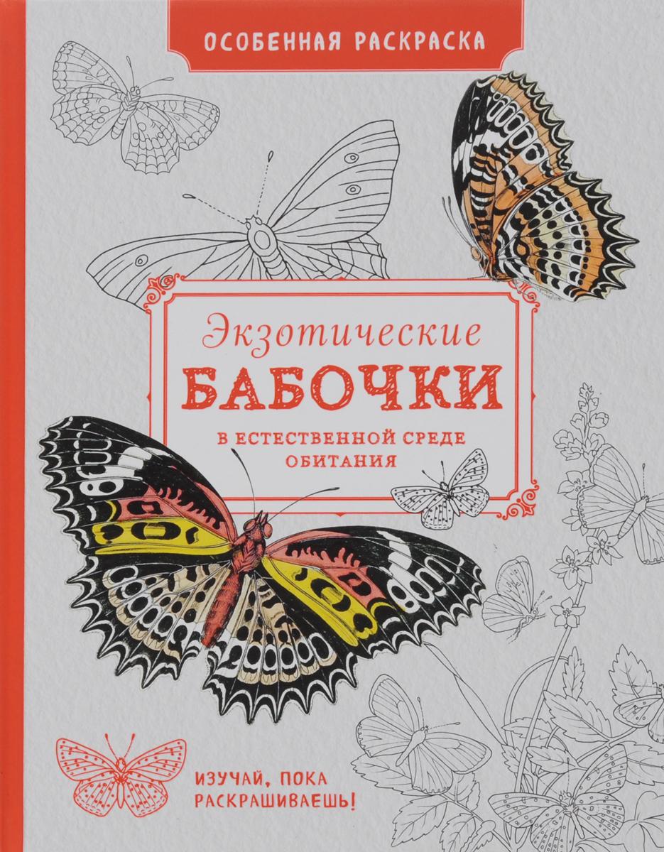 экзотические бабочки в естественной среде обитания особенная раскраска