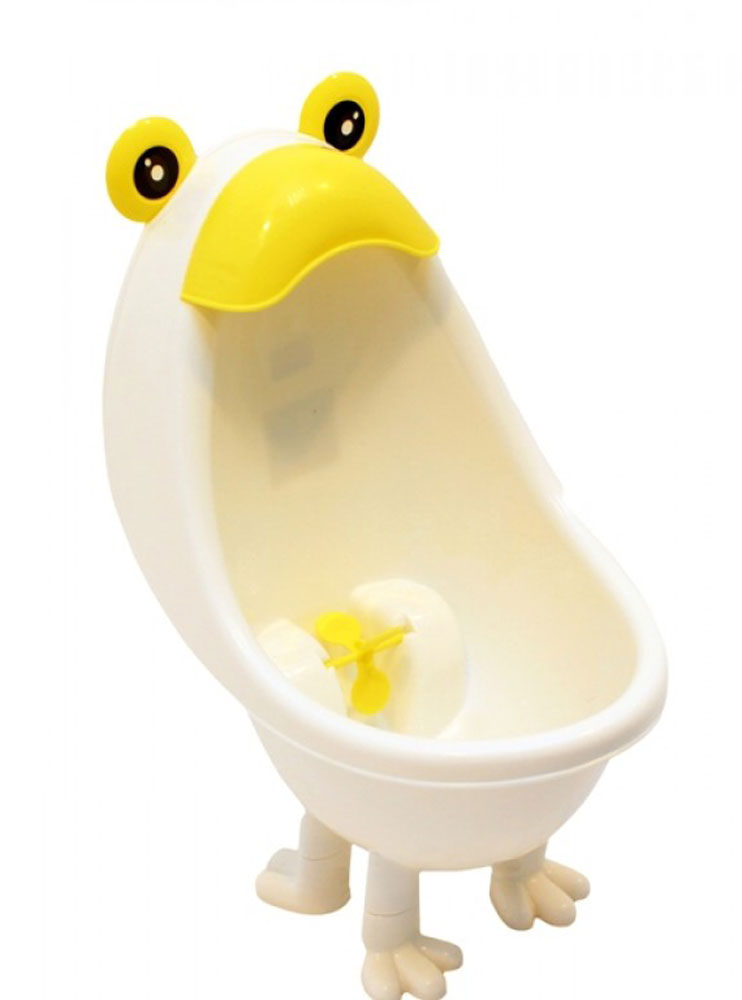 Roxy-kids Писсуар для мальчиков с прицелом цвет белый желтый писсуар roxy kids для мальчиков настенный на присоске в ванную комнату синий