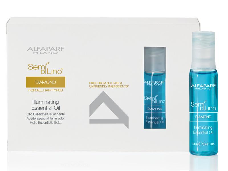 Alfaparf Масло увлажняющее для нормальных волос Semi Di Lino Diamond Illuminating Essential Oil 12*13 мл недорого