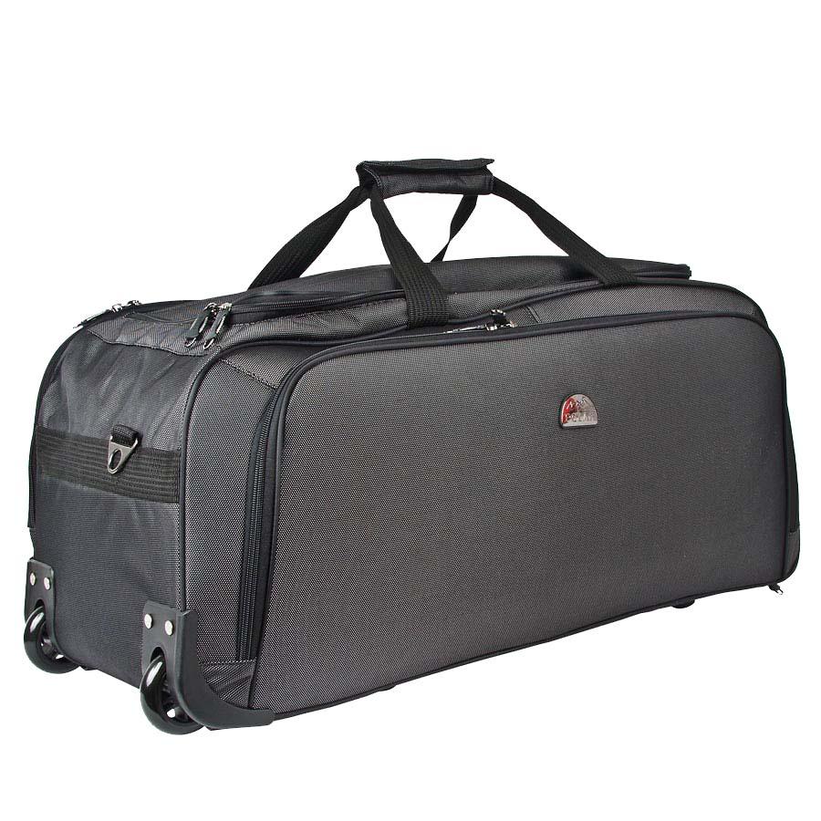 Сумка дорожная Polar, на колесах, цвет: черный, 72 л. 7022.5 сумка дорожная polar на колесах цвет синий 64 л п05 2 4046
