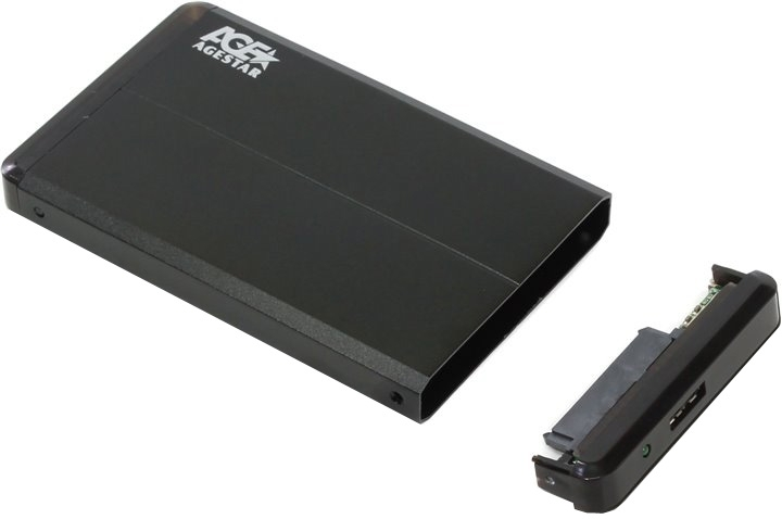 Корпус для жесткого диска AgeStar 3UB2O8 SATA 2.5