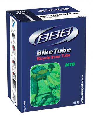 """Камера велосипедная """"BBB"""", 2,3/2,4 AV, 26"""". BTI-66"""