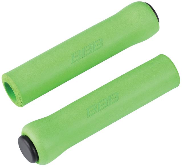 Грипсы BBB Sticky, цвет: зеленый, 13 см, 2 шт. BHG-34 грипсы bbb