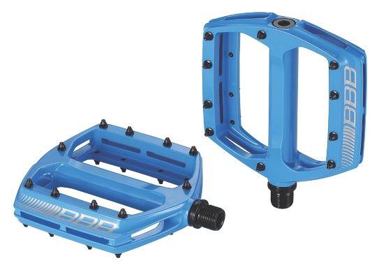 """Педали BBB """"CoolRide"""", цвет: синий, 2 шт. BPD-36"""