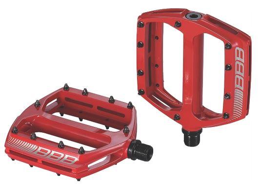 цена на Педали BBB CoolRide MTB, цвет: красный, 2 шт