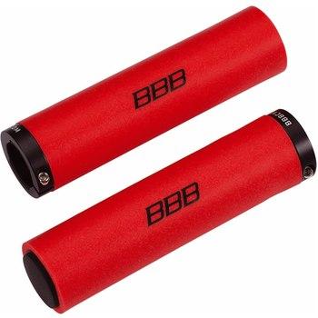 Грипсы BBB StickyFix, цвет: красный, 13 см, 2 шт грипсы bbb