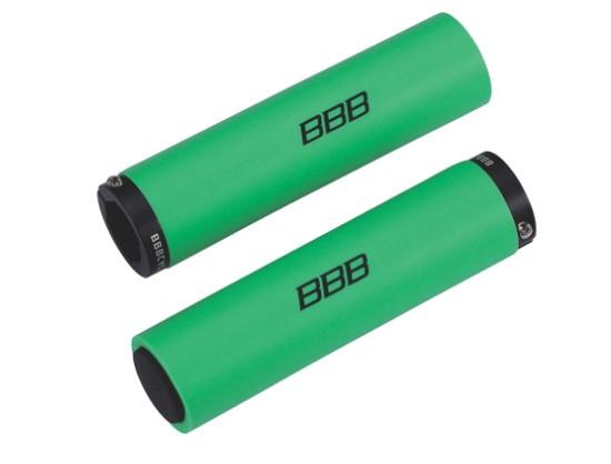 Грипсы BBB StickyFix, цвет: зеленый, 13 см, 2 шт грипсы bbb