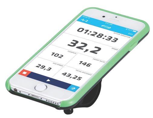 """Комплект крепежа для телефона BBB """"Patron I6"""", цвет: черный, зеленый. BSM-03"""