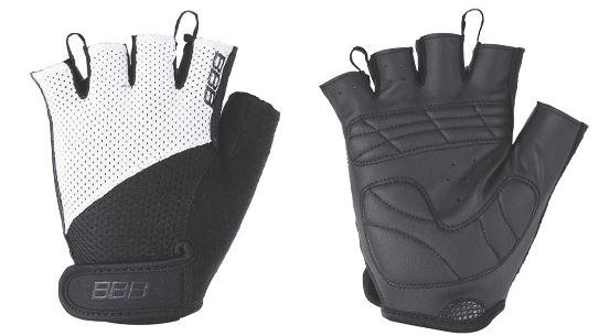Перчатки велосипедные BBB Chase, цвет: черный, белый. BBW-49. Размер L