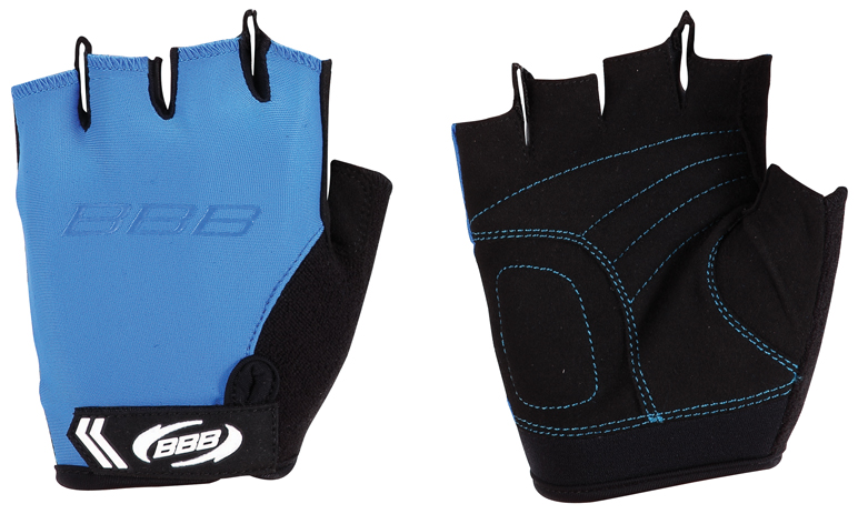 Перчатки велосипедные BBB Kids, цвет: синий, черный. Размер XL перчатки велосипедные bbb kids цвет синий черный размер m