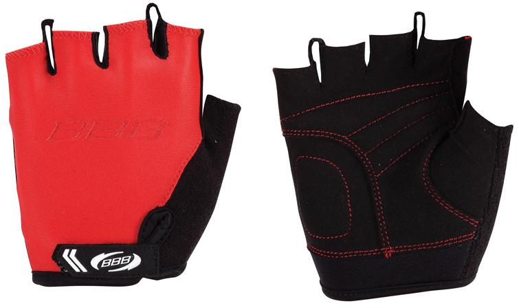 Перчатки детские велосипедные BBB Kids, цвет: красный, черный. BBW-45. Размер XL