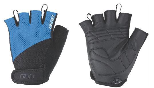 """Перчатки велосипедные BBB """"Chase"""", цвет: черный, синий. BBW-49. Размер S"""