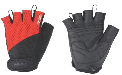 Перчатки велосипедные BBB Chase, цвет: черный, красный. BBW-49. Размер L