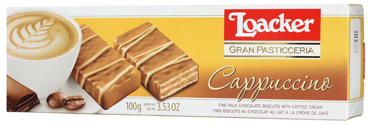 Loacker Гран Пастицерия Капучино печенье, 100 г ludattica паззл с 3d фигурами ралли гран при