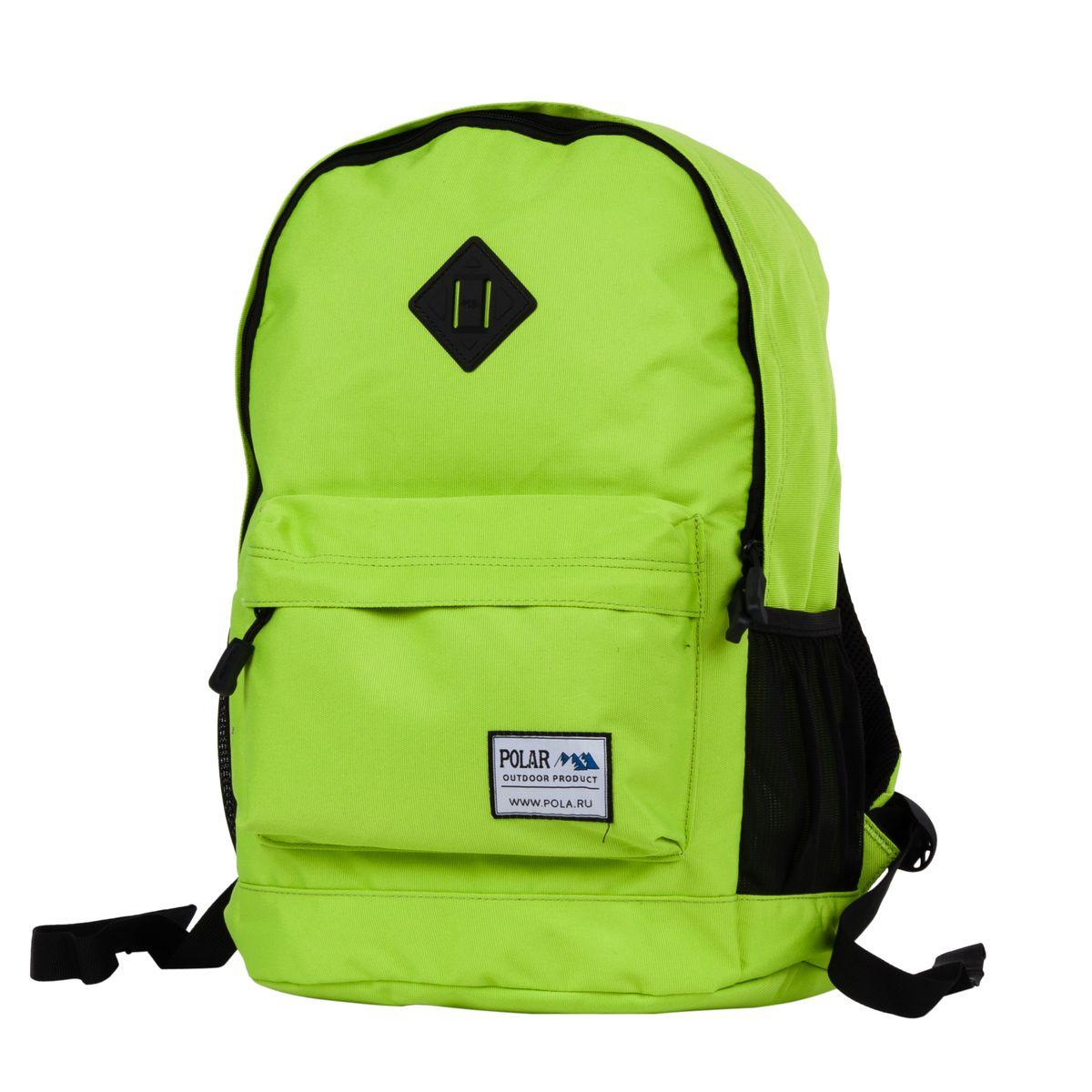 цены на Рюкзак городской Polar, цвет: светло-зеленый, 22,5 л. 15008  в интернет-магазинах