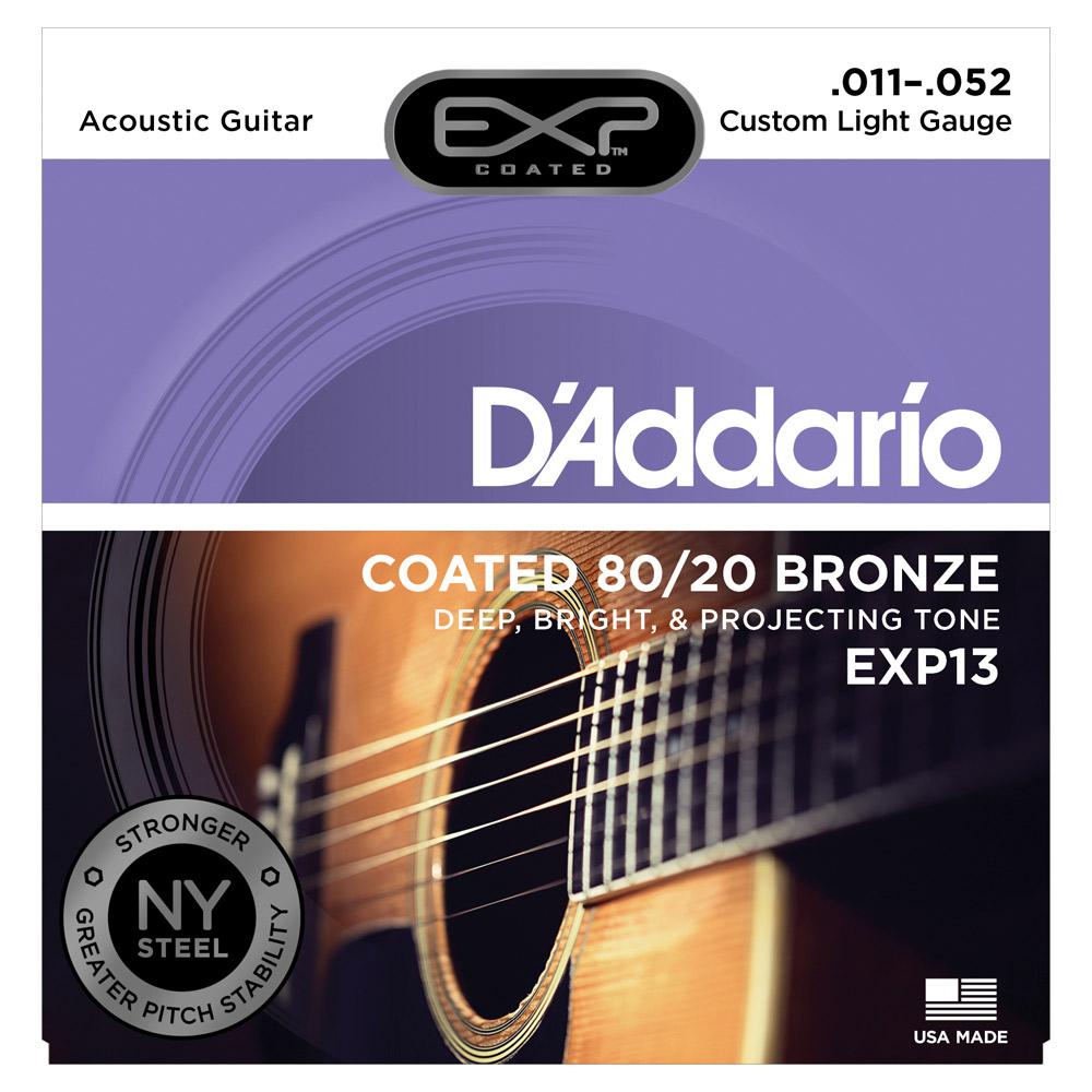 D'Addario EXP13 струны для акустической гитары струны для акустической гитары d addario ez910