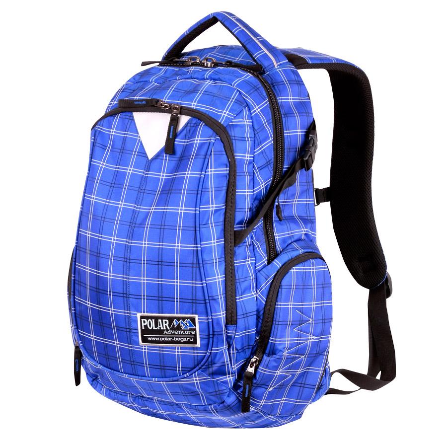 Рюкзак городской Polar, цвет: синий, 27,5 л. П1572-10 рюкзак городской polar цвет светло серый 13 л к9276