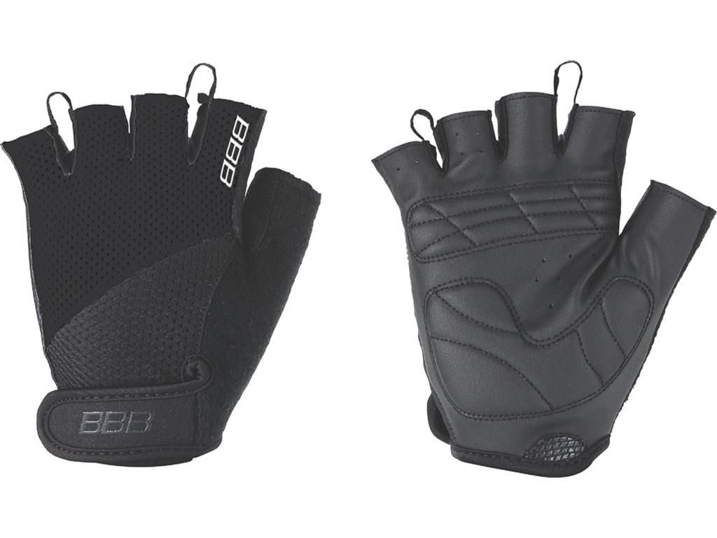 Перчатки велосипедные BBB Chase, цвет: черный. BBW-49. Размер L