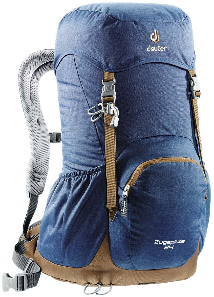 Рюкзак Deuter Zugspitze 24, цвет: синий, 24 л