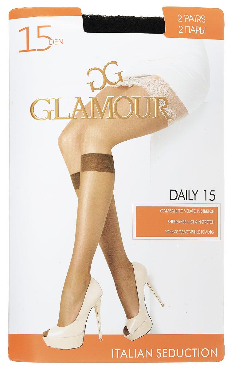 Комплект гольфов Glamour Daily гольфы женские glamour daily 40 цвет miele телесный 2 пары 25812 размер универсальный
