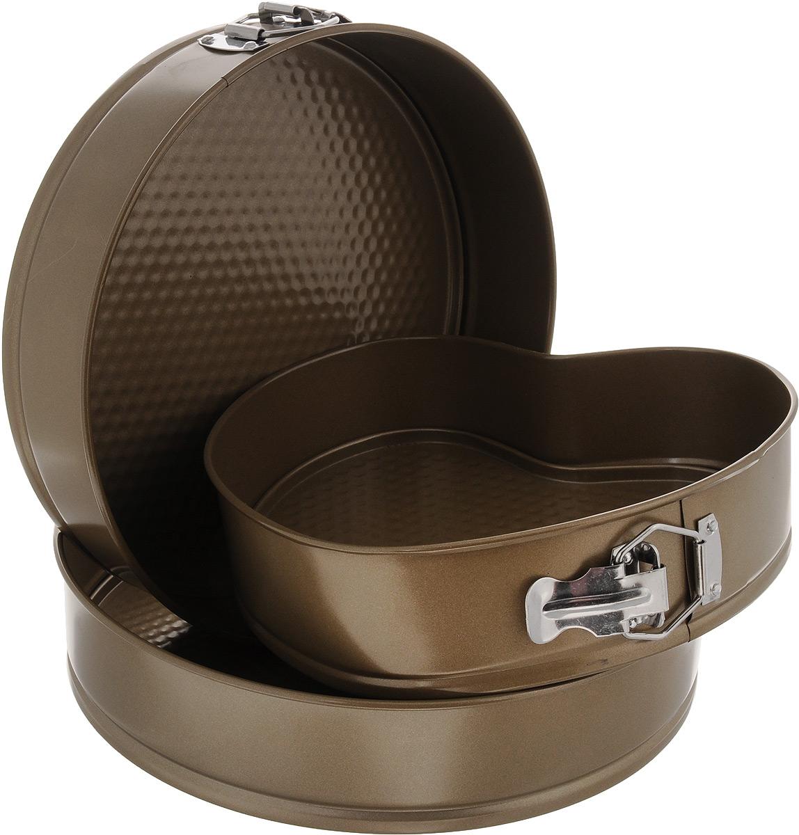 """Набор форм для выпечки """"Mayer & Boch"""", с антипригарным покрытием, 3 предмета. 24277"""