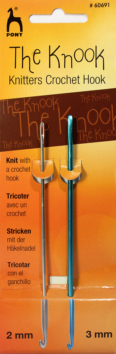 Крючки для нукинга Pony, диаметр 2 и 3 мм, 2 шт набор крючков для вязания pony металлические длина 13 см 10 предметов