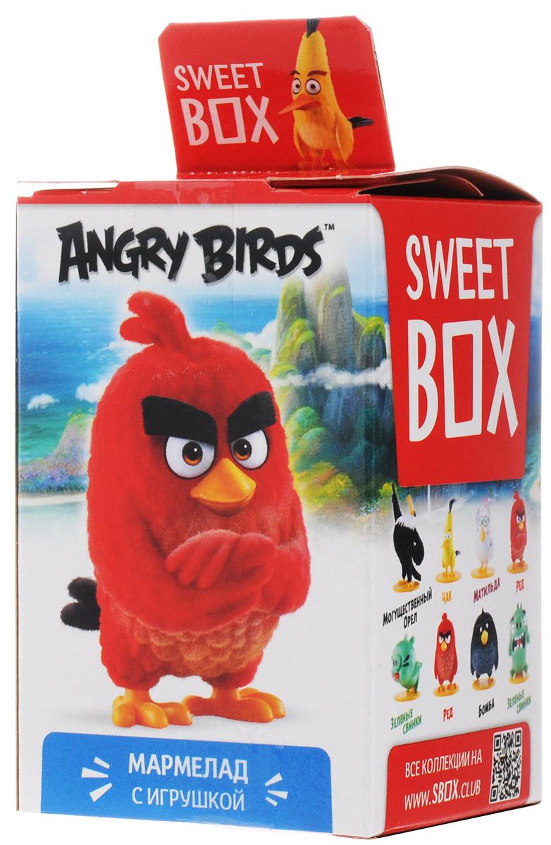 цена на Sweet Box Angry Birds мармелад жевательный с игрушкой, 10 г