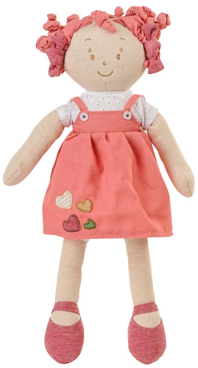 BabyOno Мягкая кукла Лили цвет коралловый