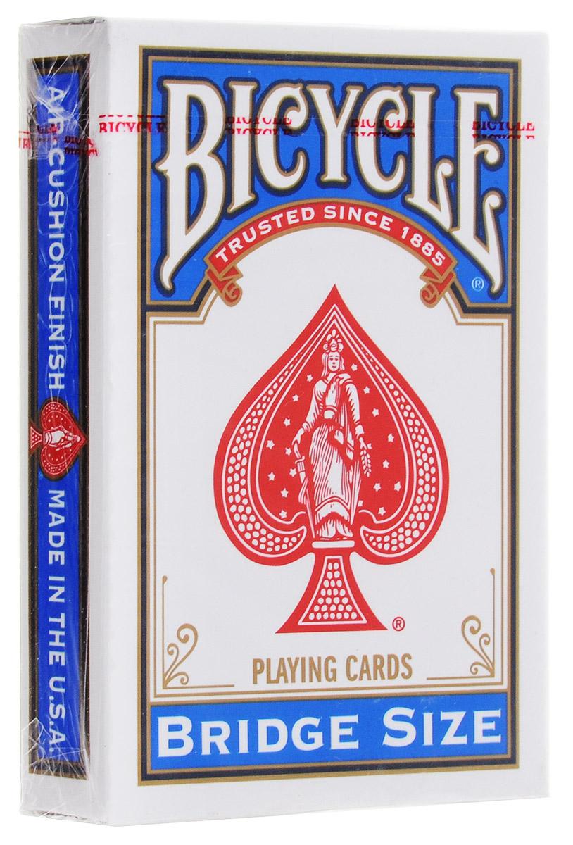 Карты игральные Bicycle Bridge, цвет: синий, 54 карты mymei outdoor 90db ring alarm loud horn aluminum bicycle bike safety handlebar bell