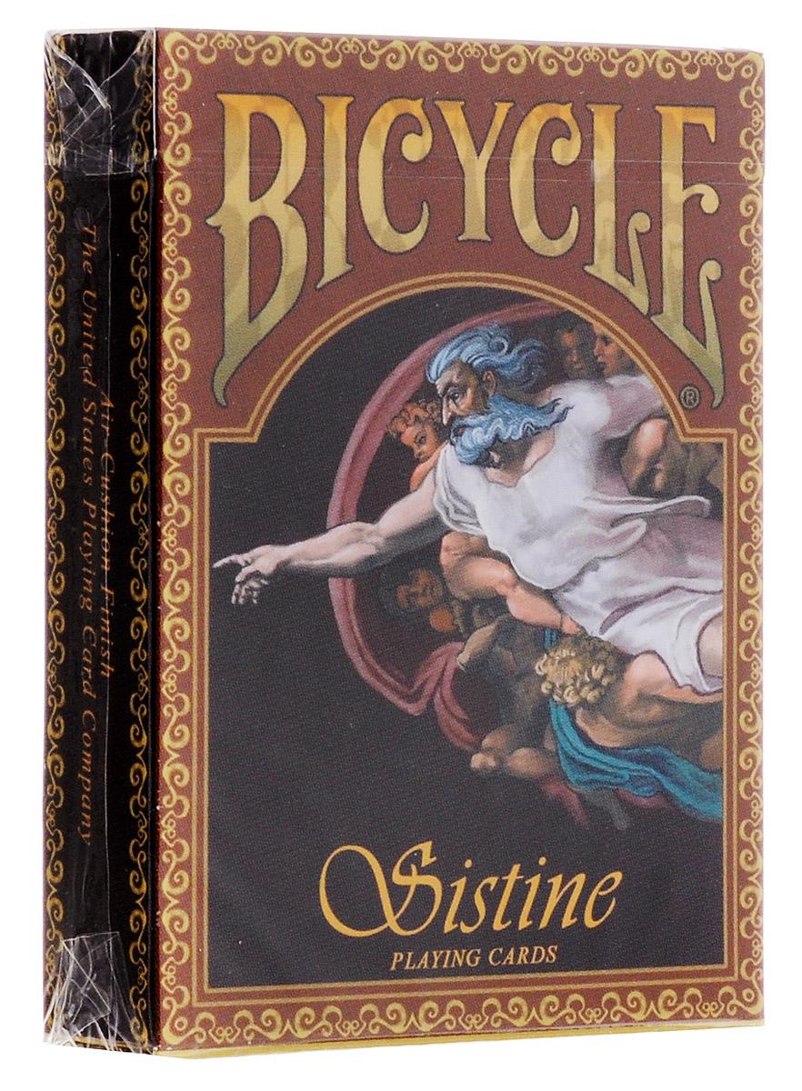 Карты игральные коллекционные Bicycle Сикстинская капелла, ограниченная серия, 54 карты карты игральные коллекционные bicycle tragic royalty 54 шт