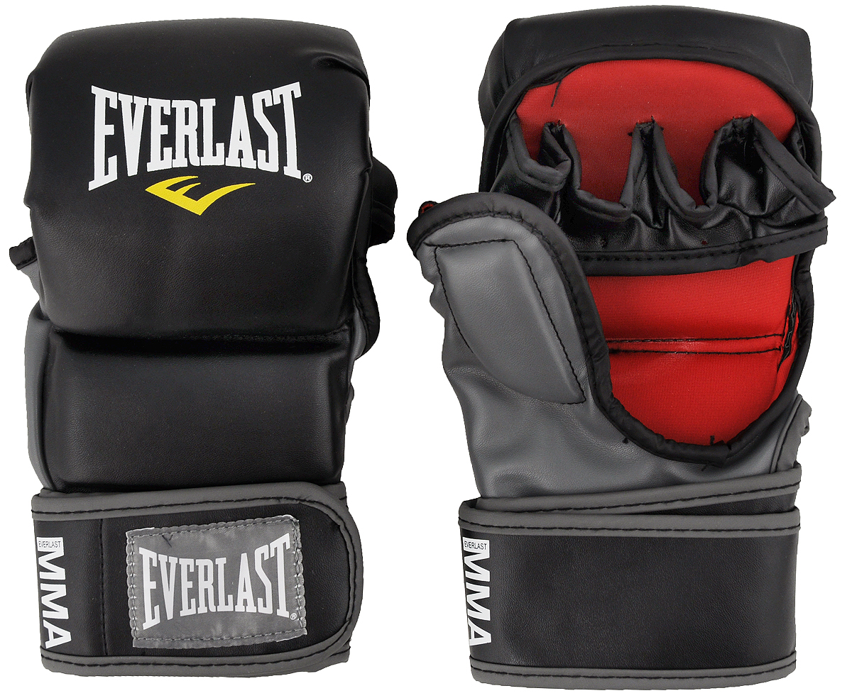 цена на Перчатки тренировочные Everlast MMA Striking. Размер S/M