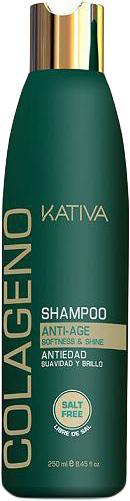 Kativa Коллагеновый шампунь для всех типов волос COLAGENO, 250 мл шампунь коллагеновый kativa